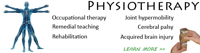 Psysiotherapy software for movment rehabilitation